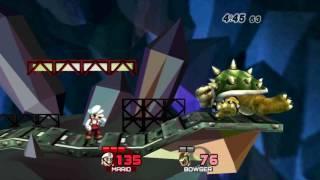 [Brawl Minus] - Mario vs Bowser