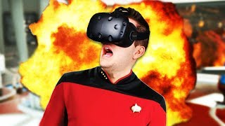 Klingons Incoming! - Star Trek: Bridge Crew Gameplay - Star Trek: Bridge Crew VR HTC Vive