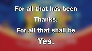 For all the has been, thanks. | National Lutheran Choir Gala 2017