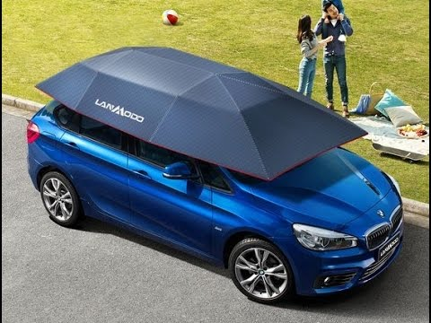 Automatic Car Tent  --   Lanmodo