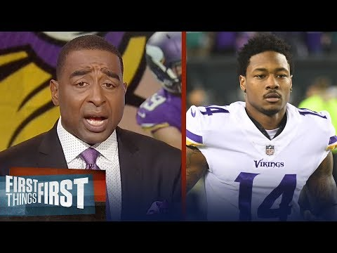 Cris Carter on Minnesotas wide receivers going into the 2018 season   NFL   FIRST THINGS FIRST
