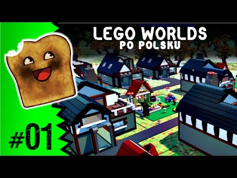 Lego Worlds Po Polsku Lego Minecraft Youtube