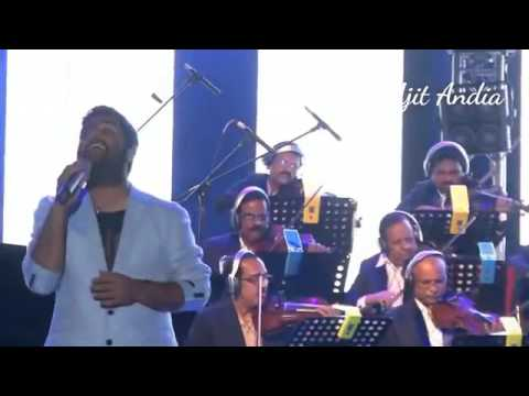 Arijit singh live performance with armaan malik for jag goomeya