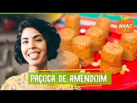 Paçoca caseira de amendoim   Bela Gil  Bela Cozinha