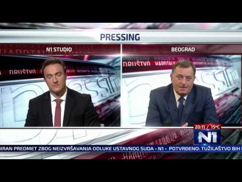 N1 Pressing: Milorad Dodik (26.9.2016.)