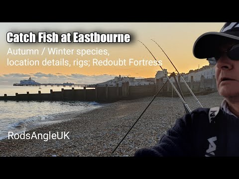 CATCH FISH AT EASTBOURNE: Autumn/winter Species, Location Details, Rigs; Redoubt Fortress