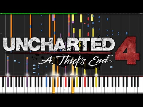 Nate's Theme - Uncharted 4 [Piano & Orchestra] (Synthesia) // PianoPrinceOfAnime