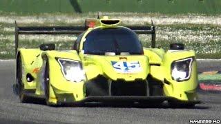 European Le Mans Series ELMS 2017 - P2, P3 & GTE Cars Testing @ Monza!