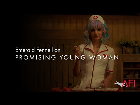 PROMISING YOUNG WOMAN writer/director Emerald Fennell