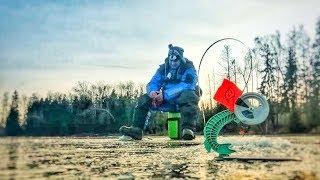 Первый лёд 2019 2020 Открываем сезон зимней рыбалки Рыбалка со льда в Московской обл Жерлицы