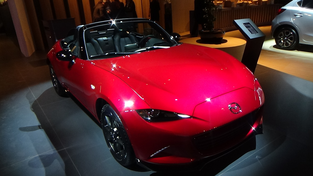 2017 Mazda Mx 5 Roadster Exterior And Interior Auto Show Brussels