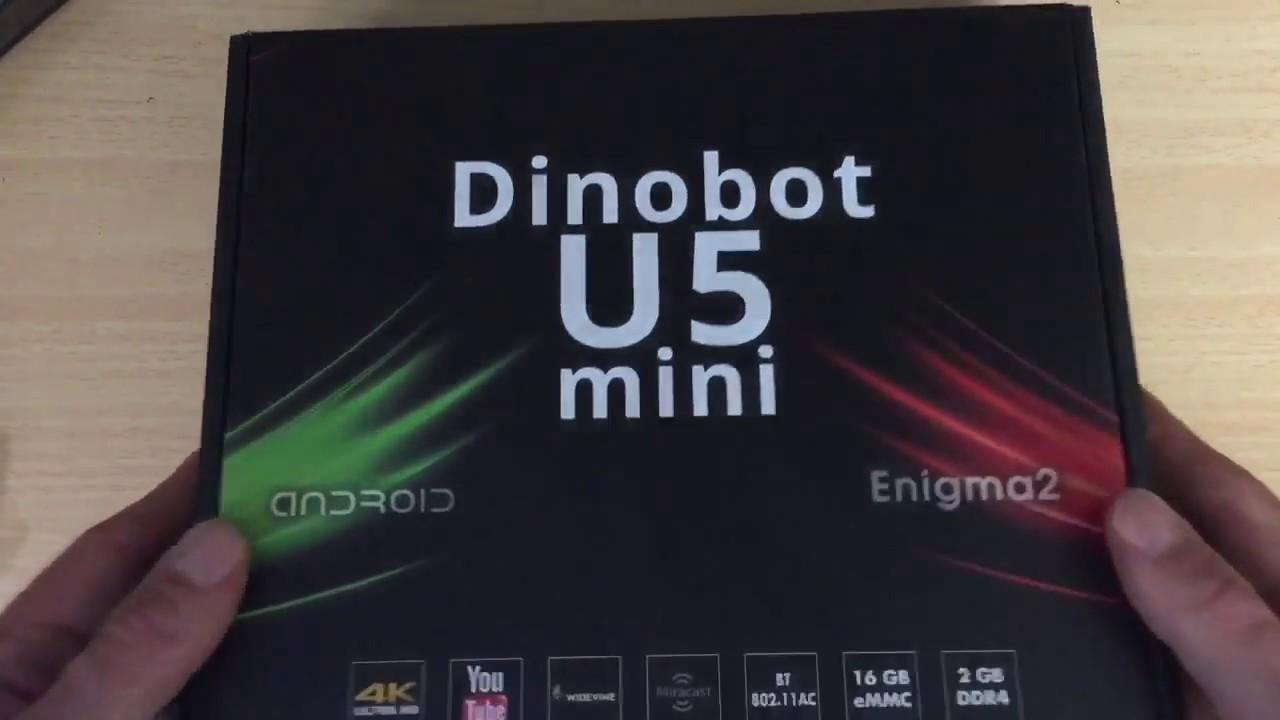 Dinobot U5 Mini UHD Hybrid Receiver