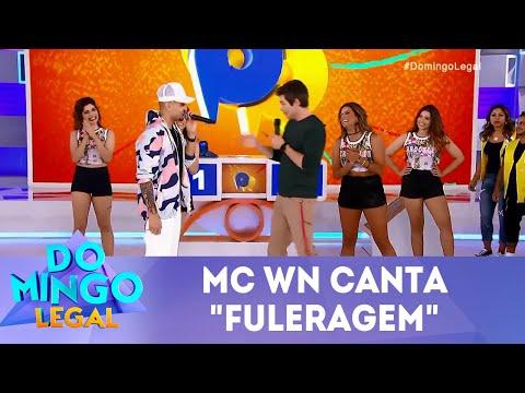"MC WN canta ""fuleragem""  | Domingo Legal (27/05/18)"