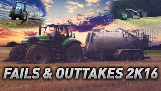 FAILS & OUTTAKES 2K16 | Agriculture Germanyy