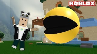 Dev Pac Man'den Kaç! - Panda ile Roblox Survive the Epic Disasters!