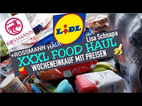 xxxl-food-haul- -lidl- -rossmann-haul- -angebote- -wocheneinkauf- -deutsch- 