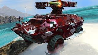 SUDA VE KARADA GİDEN TANK!! (GTA 5 Online DLC)
