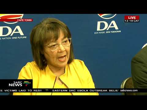 Patricia de Lille resigns as C Town mayor