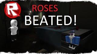 ROBLOX batendo rosas! -Com o amigo! -ASILO LOUCO