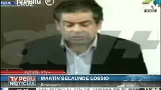 Martín Belaunde Lossio desde Bolivia: Jamás cometí delito alguno