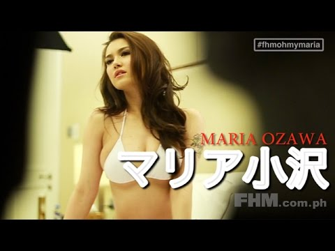 #FHMOhMyMaria: In Bed With Maria Ozawa!