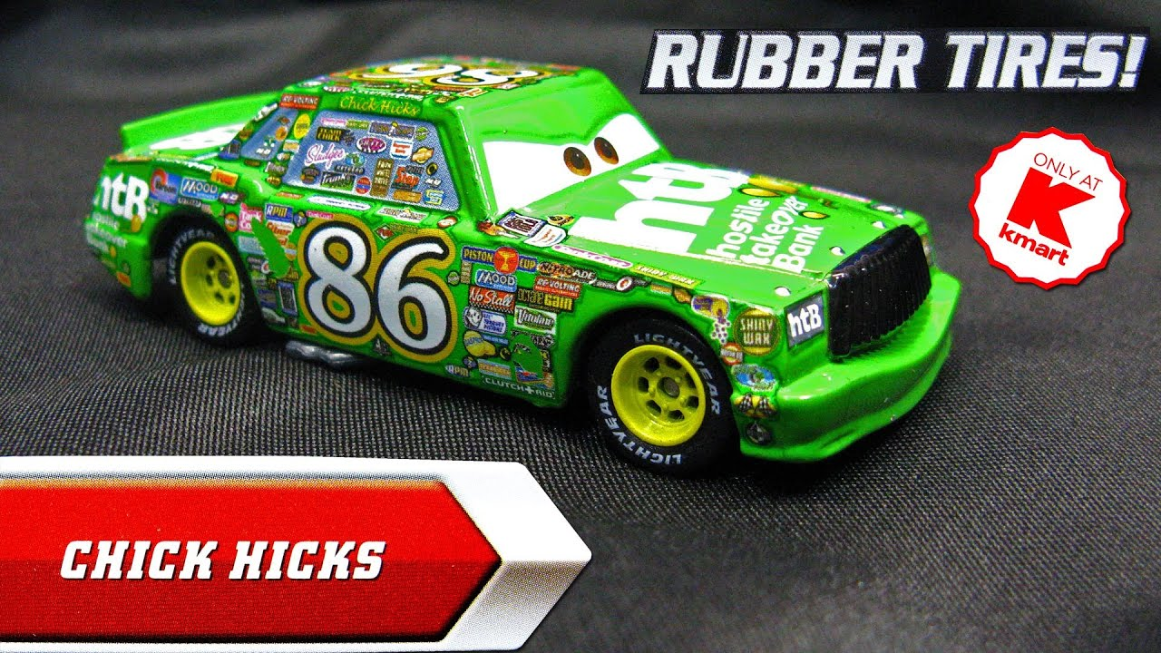 Uncategorized Chick Hicks Cars disney pixar cars chick hicks k mart exclusive day 6 die cast toy synthetic rubber tires youtube