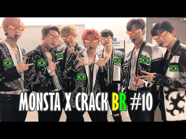 MONSTA X CRACK BR #10: MONSTA X NO BRASIL!
