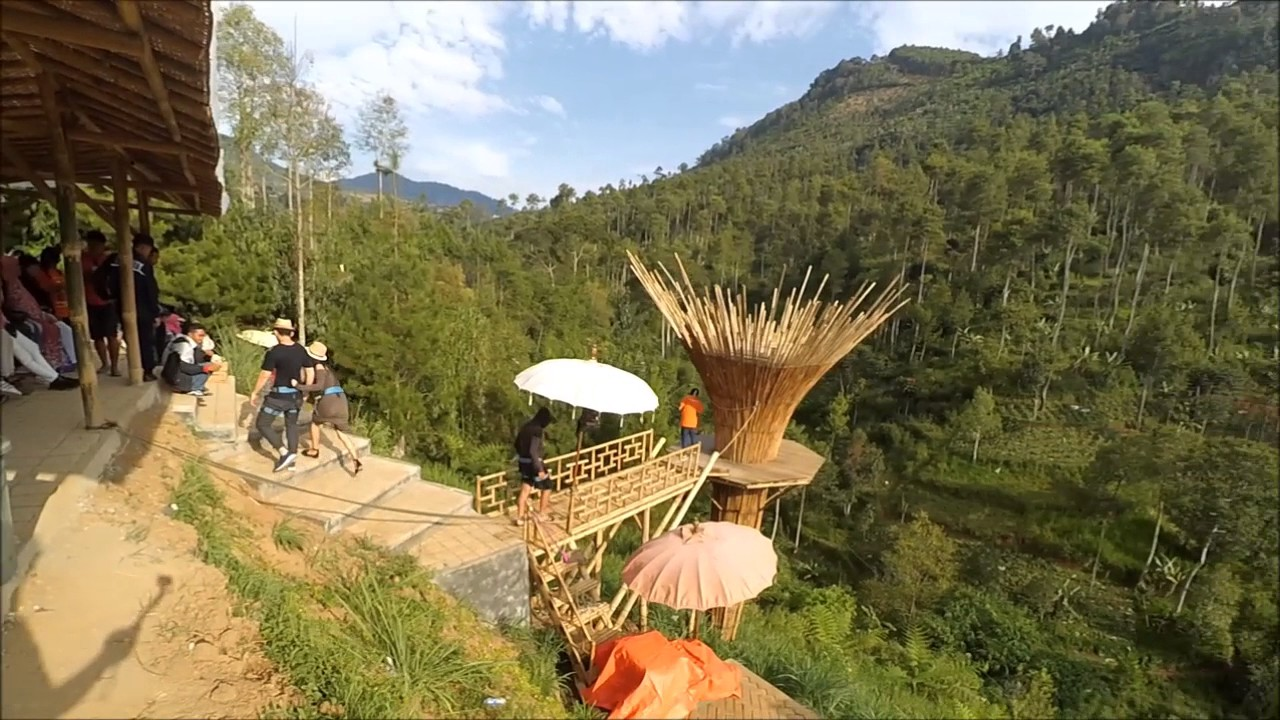 The Lodge Maribaya, Wisata Bandung Kota, Vocation - YouTube