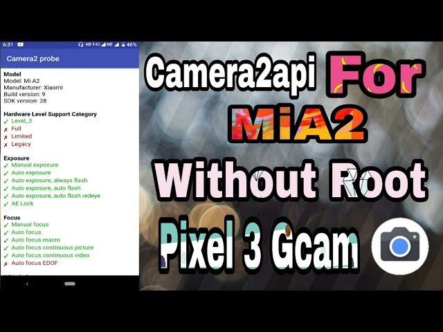How to install gcam with video guide? | Xiaomi Mi A2