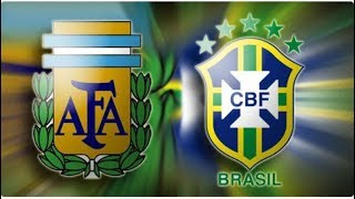 موعد مباراة البرازيل والأرجنتين اليوم الثلاثاء 16-10-2018 فى الدورة الرباعية