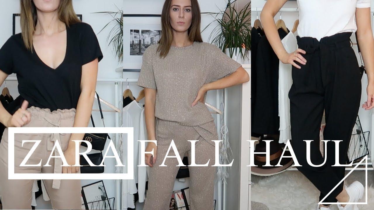 7a7a00f9f32 Zara Fall Haul | Try On 2018 by EMMA MARIA