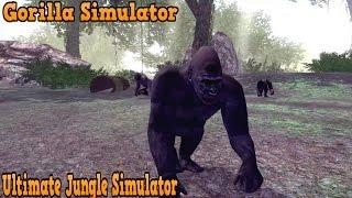 🦍👍Gorilla Simulator -Симулятор гориллы -Ultimate Jungle Simulator - By Gluten  Free Games