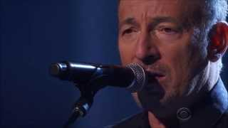 Bruce Springsteen - I Hung My Head - Sting - Kennedy Center Honors 2014