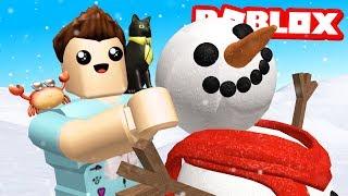 Roblox Christmas - SNOWMAN SIMULATOR!