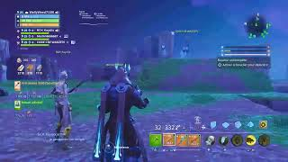Live fortnite save the world I give you weapons more rain drop with the abos