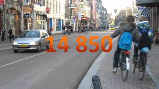 Counting Cyclists, Utrecht (Netherlands)