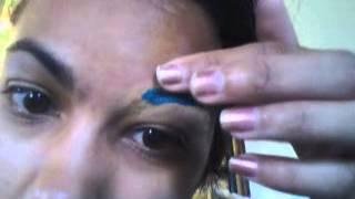One Way To Color Eyebrows - Orlando Makeup Artist