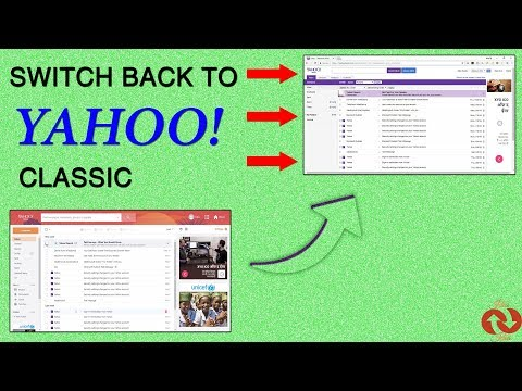 I want my old yahoo email format back