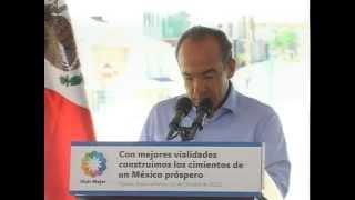 """Inauguración del Boulevard """"José Francisco Blake Mora"""""""