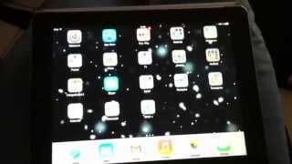 Úkaz temné síly na iPadu