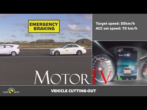 SAFETY : Euro NCAP 2018 L Automated Testing  L Mercedes Benz C Class