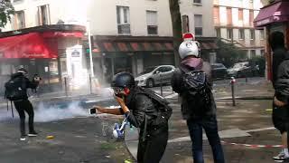 Manifestation contre la loi travail à Paris le 12 septembre 2017 vidéos 5