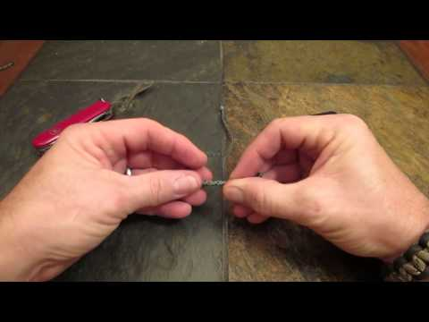 How to Make a Tether Cord Noose Knot Lanyard