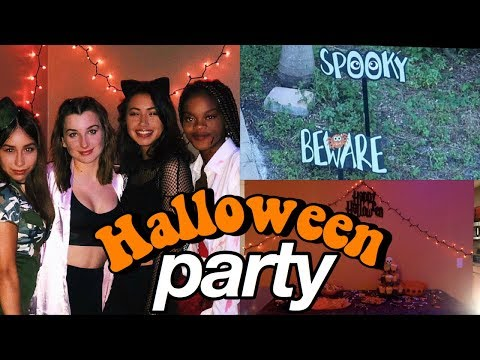 THROWING A HALLOWEEN PARTY