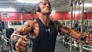 Dwayne The Rock Johnson  Workout Training into 2017  Eminem - Soldier