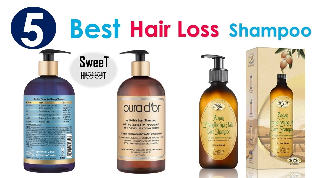 Top 5 Best Shampoo For Hair Loss Best Hair Loss Shampoo 2017