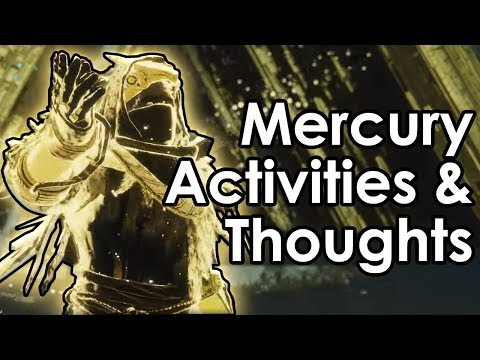 Destiny Curse of Osiris: Mercury Activities Revealed & Datto's Thoughts