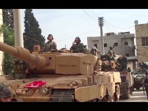 Turkey and Islamist Rebels Carve Up Northern Syria