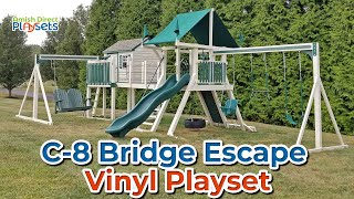 Playset Walkthrough | C-8 Bridge Escape Vinyl Playset | Swing Kingdom