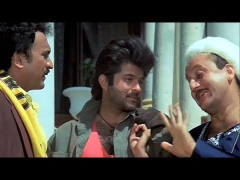 Anil Kapoor, Anupam Kher, Tezaab - Emotional Scene 5/20 (k)